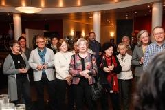 Mitglieder der DPG bei der Begrüßung zur Jahrestagung 2017 im Foyer des Hotel Krämerbrücke in Erfurt · © Andreas Lahn