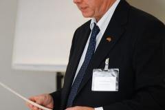 Der Vorsitzende Michael W. Wirges bei seiner Ansprache an die Mitglieder · © Andreas Lahn