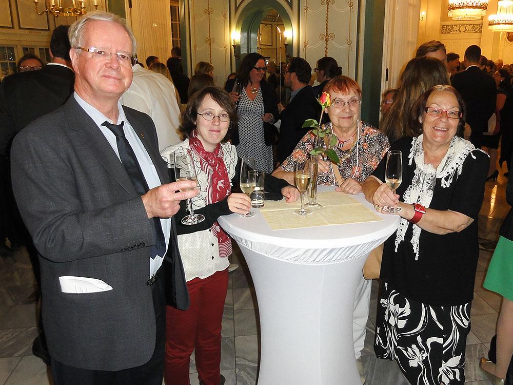 Foto von Mitgliedern der DPG bei den Young Euro Classics 2017