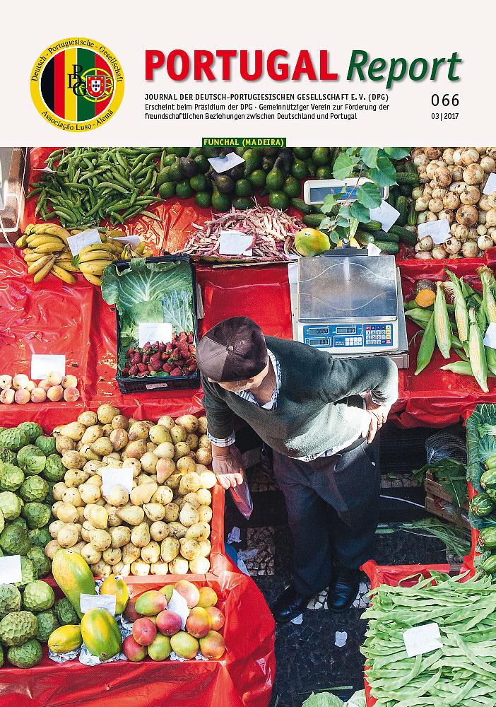 Titelseite von PORTUGAL REPORT 66