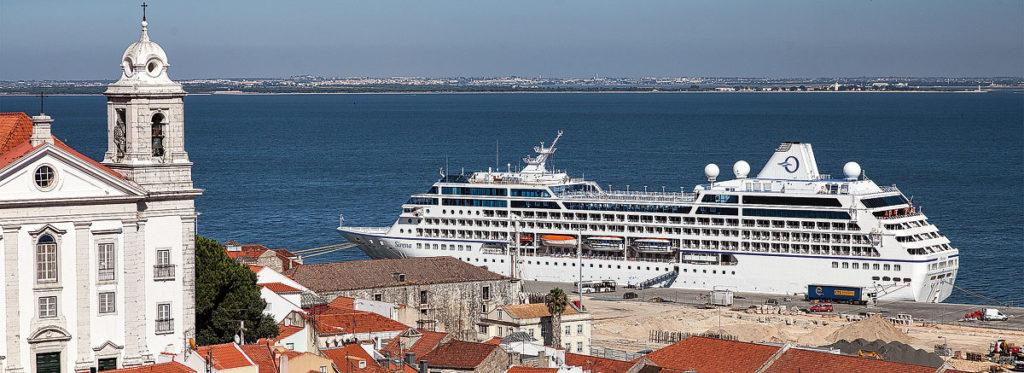 Foto des Kreuzfahrt-Anlegers in Lisboa