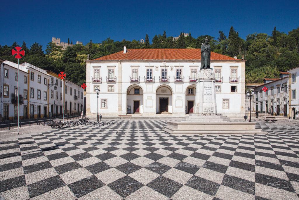 Foto vom Rathaus in Tomar