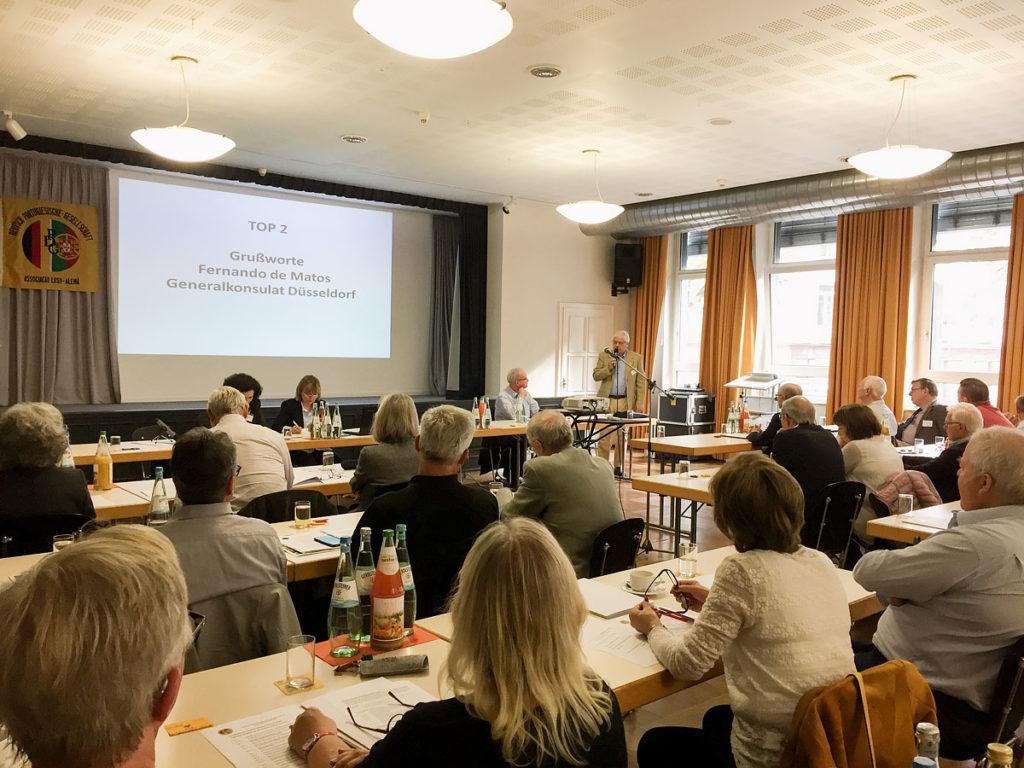 Foto von der Jahrestagung der DPG in Düsseldorf
