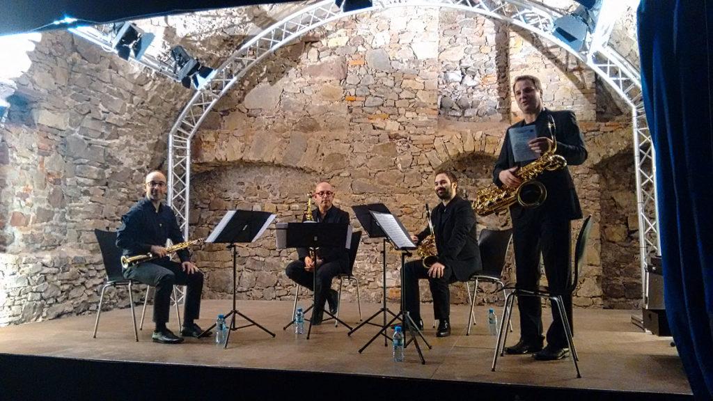 Foto vom Saxophon-Konzert am 30.11.2018 in Freiburg