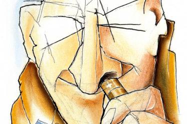 Illustration zum Thema »Energie« von Timo Dillner