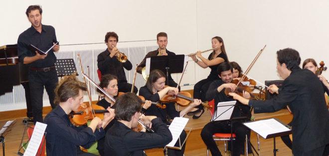 Foto von Filipe Pinto und Orchester
