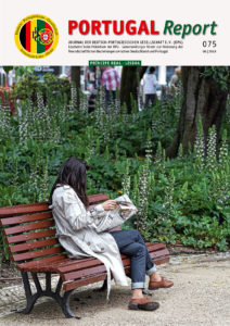 Die Titelseite von PORTUGAL REPORT 75