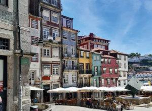 Foro der Muro dos Cobertos da Ribeira in Porto