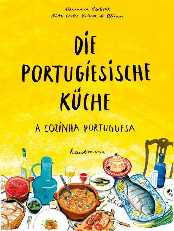 Cover des Buches von Alexandra Klobouk – Die portugiesische Küche