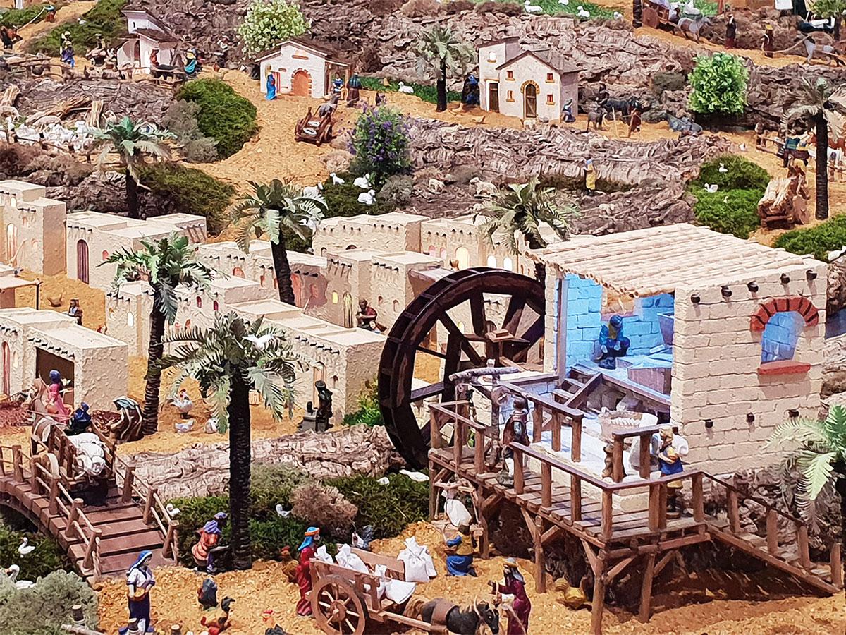 Foto der Krippenlandschaft von VR de Santo António am Algarve (Portugal)