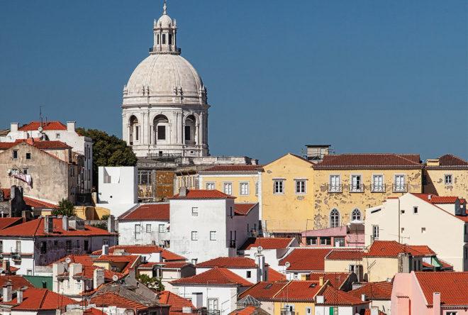 Foto von der Alfama (Lissabon)