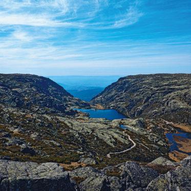 Foto aus der Serra da Estrela (Portugal)