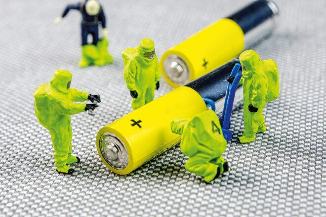 Foto von Batterien