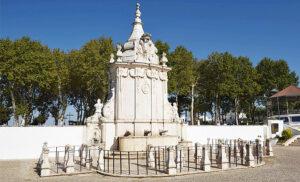 Foto des Fonte das Bicas (Marmorbrunnen in Borba von 1781)
