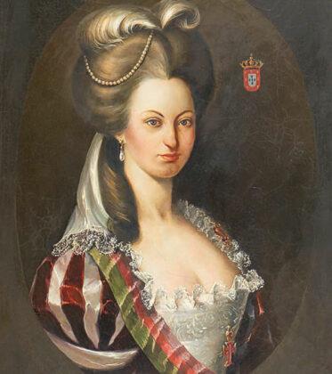Foto eines Retratos da Rainha D. Maria I