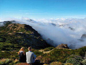 Foto: Über den Wolken am Pico do Areeiro