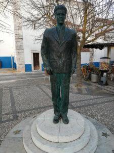 Foto der von Statue Bento de Jesus Caraça in Vila Viçosa, Portugal