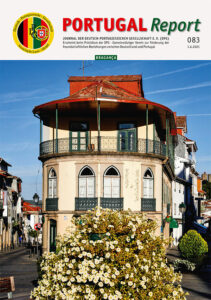 Cover der DPG-Zeitschrift Portugal Report 83