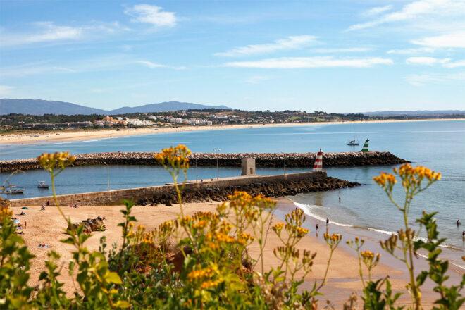 Foto von der Küste des Algarve nahe Lagos