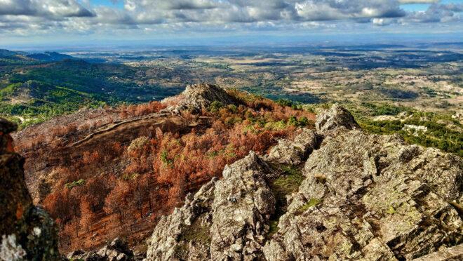 Foto der Serra de São Mamede in Portugal